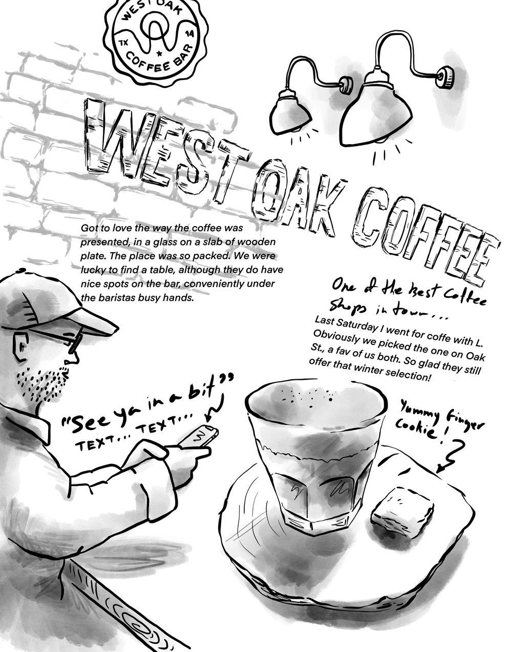 West Oak Cafe - image 2 - student project