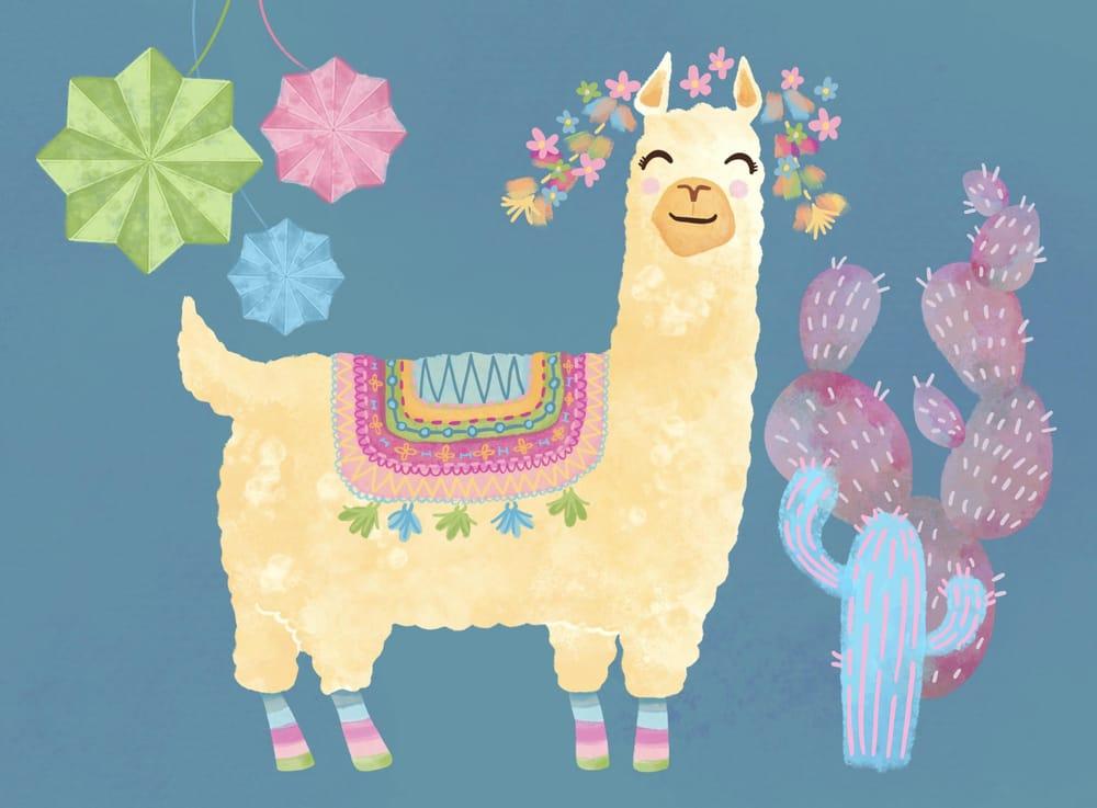 Llama Fiesta - image 1 - student project