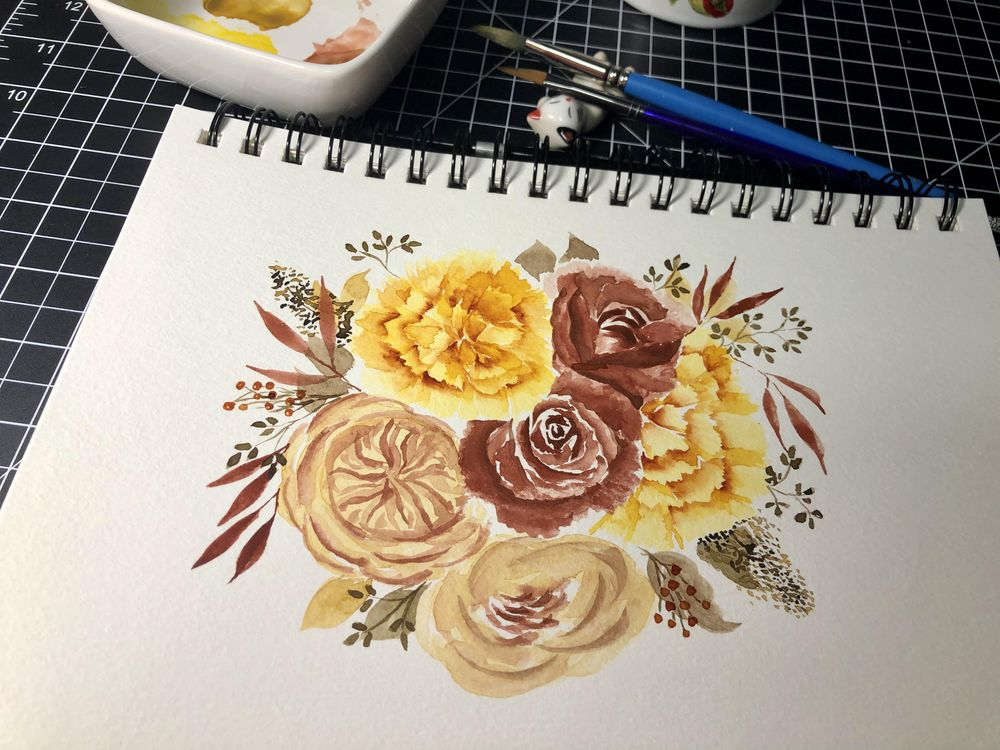 Fall Bouquet - image 1 - student project