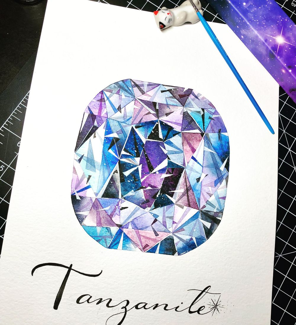 Sapphire Ring - image 2 - student project