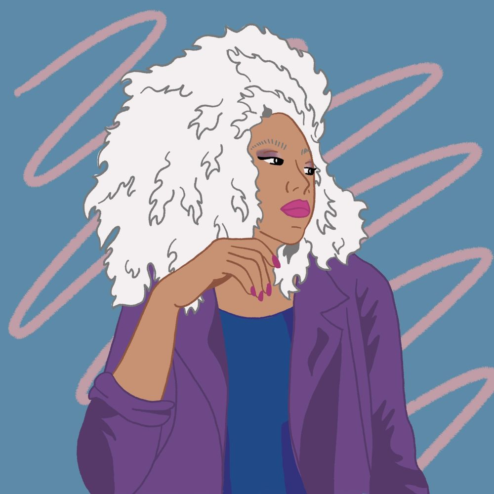Exploring portrait illustration - image 2 - student project