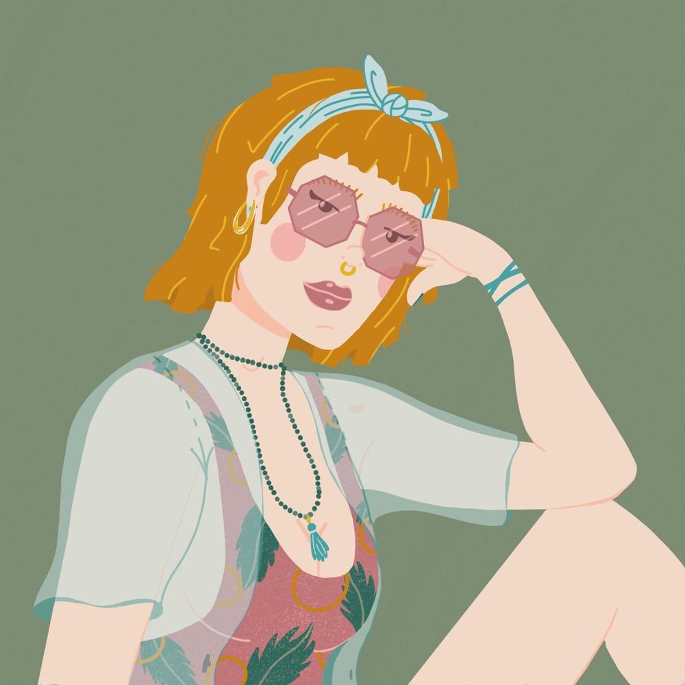 Exploring portrait illustration - image 4 - student project