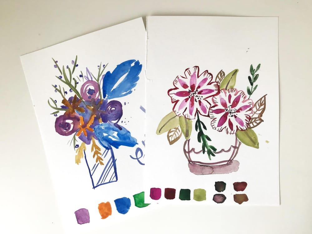 Summerflowers & Wintertrees - image 1 - student project