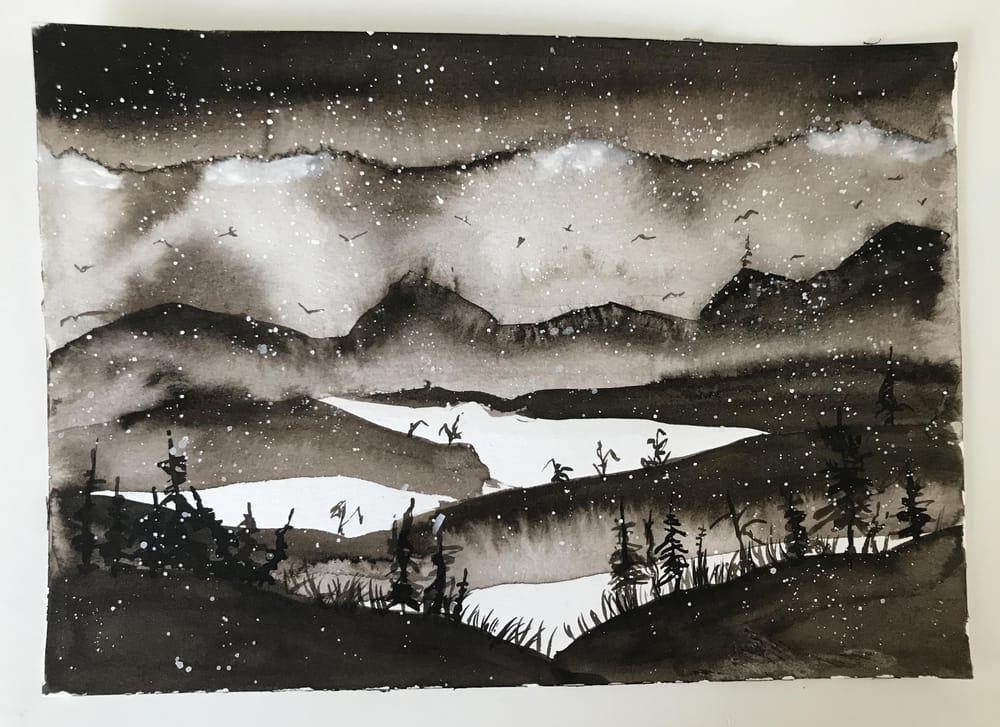 Monochrome Landscape - image 4 - student project