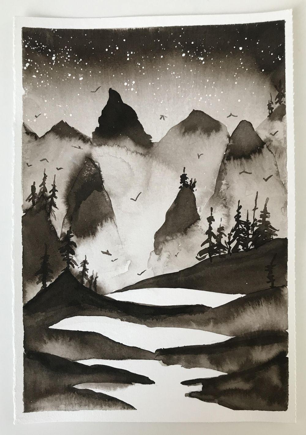 Monochrome Landscape - image 3 - student project