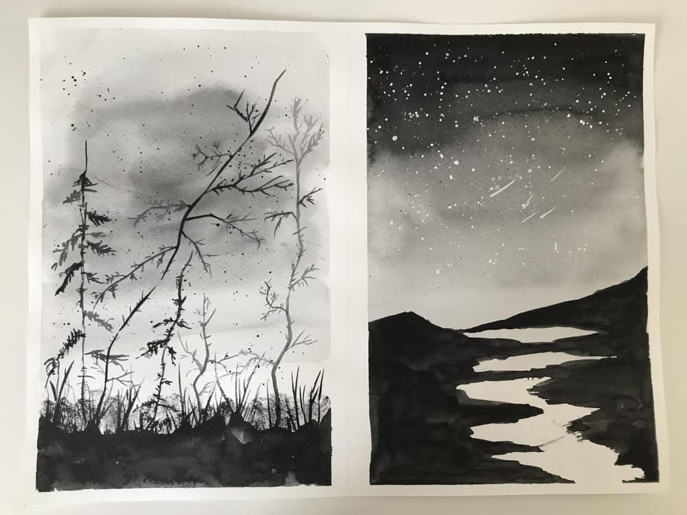 Monochrome Landscape - image 2 - student project