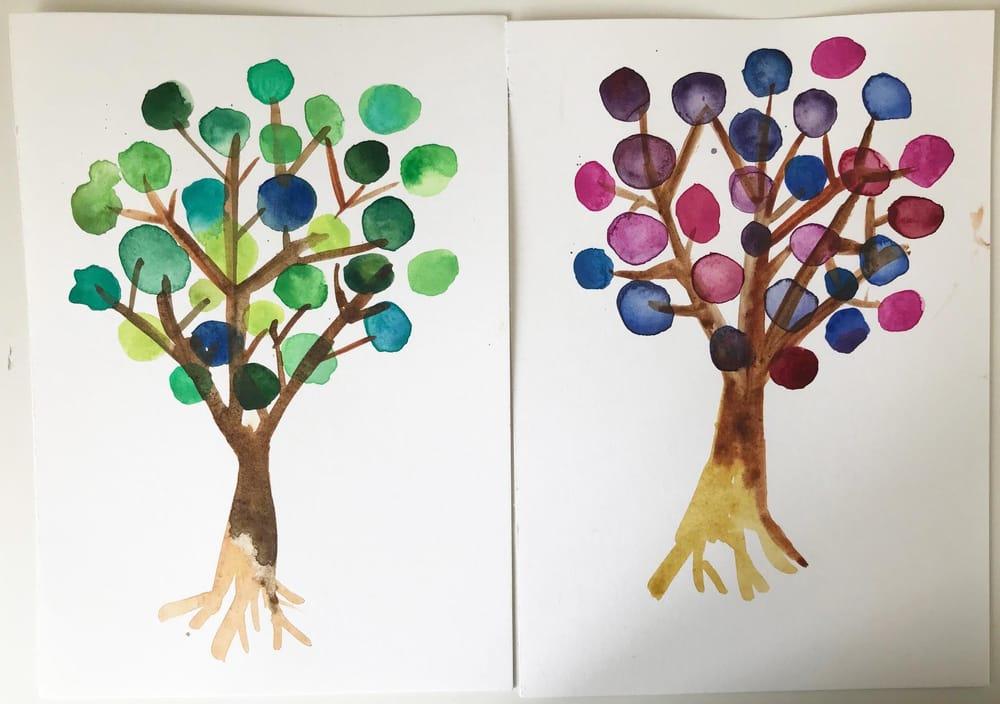 Summerflowers & Wintertrees - image 2 - student project