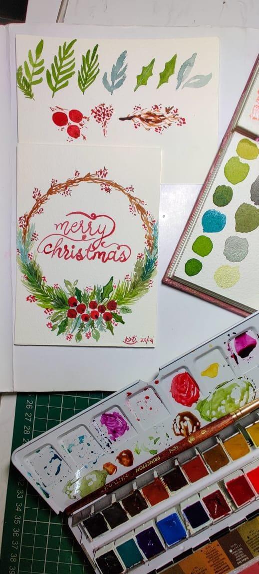 Christmas Wreathe - image 1 - student project
