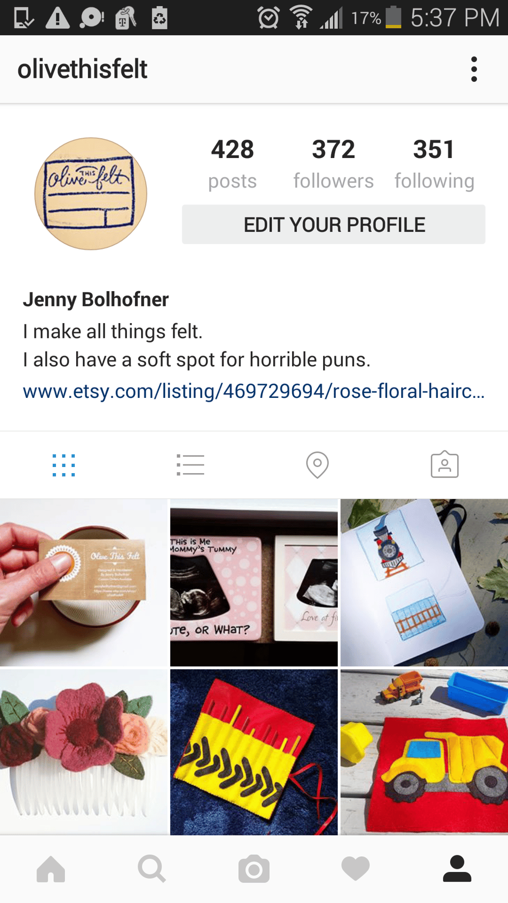 Instagram Makeover - image 1 - student project