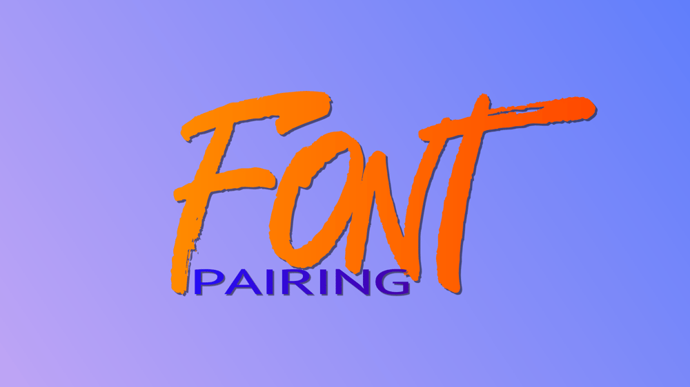 Font Pairing - image 1 - student project