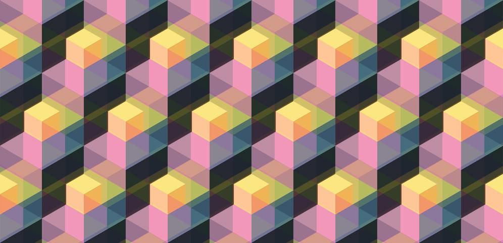 Multicolored, Offset Pattern - image 1 - student project