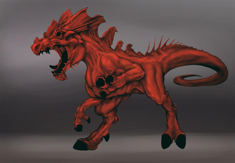 Howler Painting - image 3 - student project