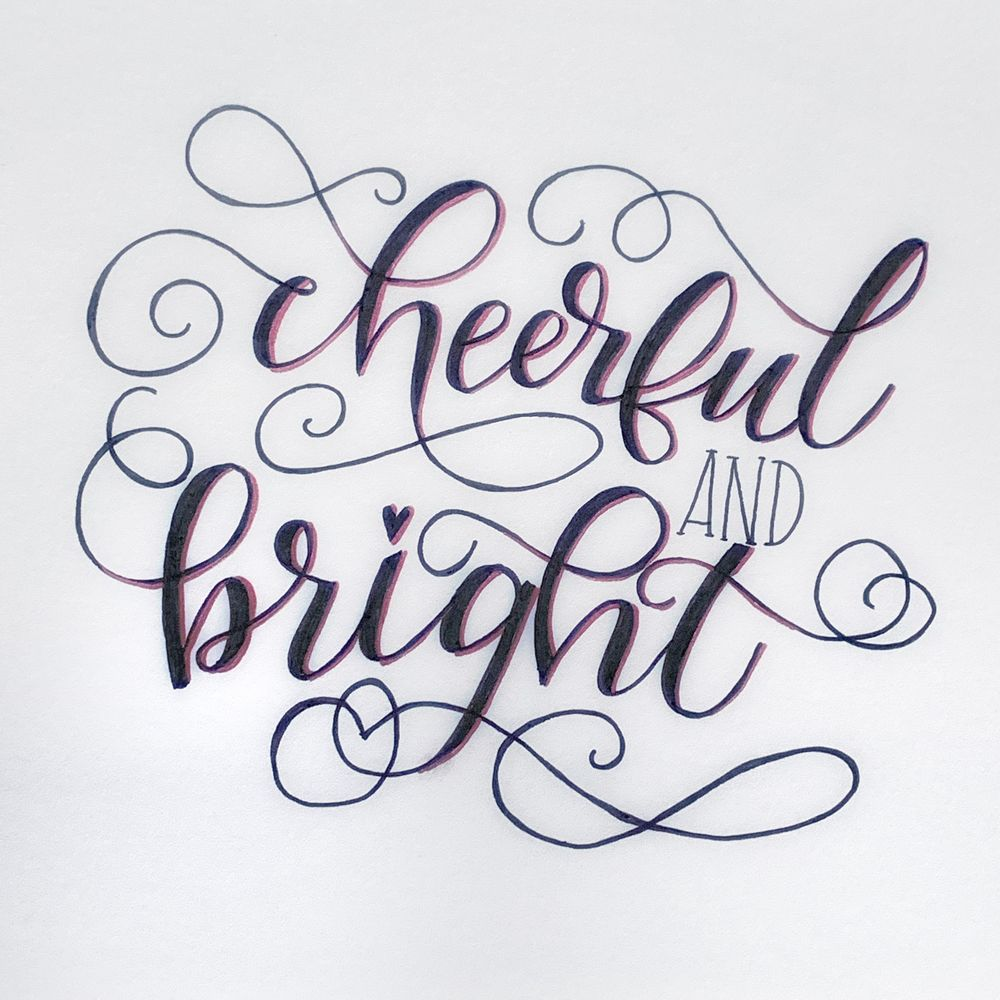 Flourished Cheerful and Bright! - image 2 - student project