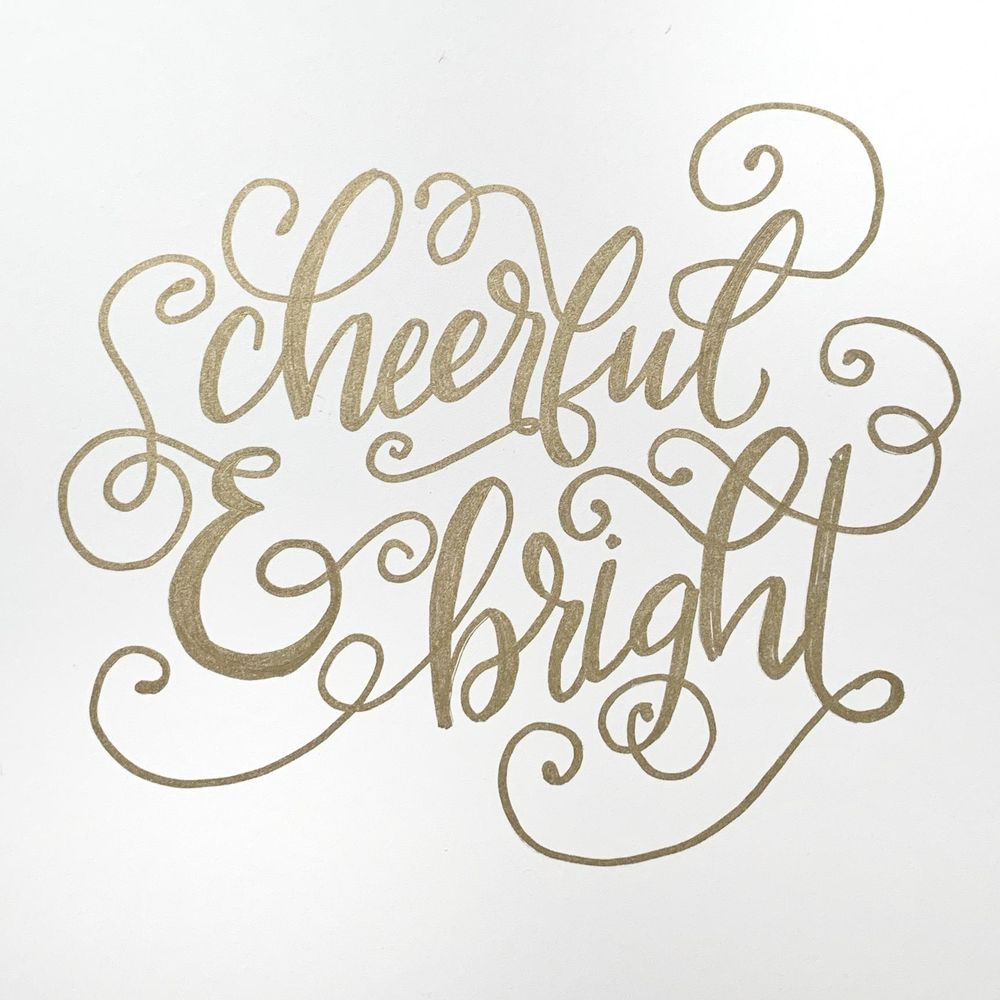 Flourished Cheerful and Bright! - image 1 - student project