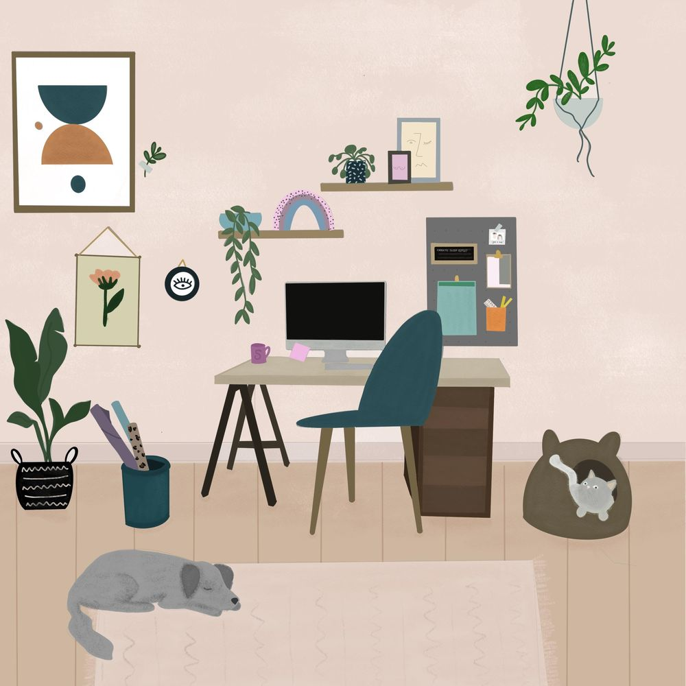 Home Scene - image 1 - student project
