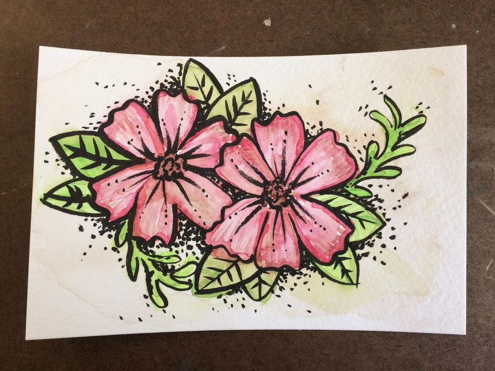 floral color mixing gone awry! - image 1 - student project