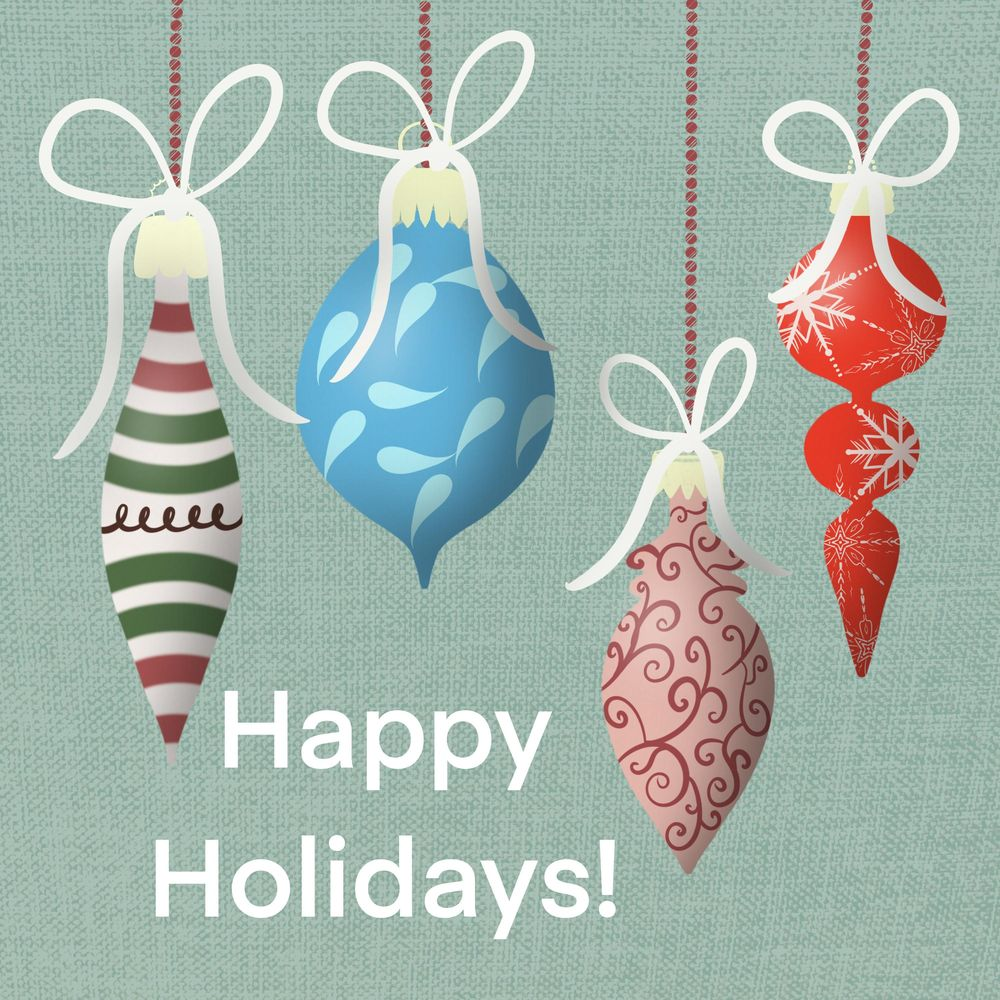 Vintage Christmas Ornaments With Sparkle - image 1 - student project