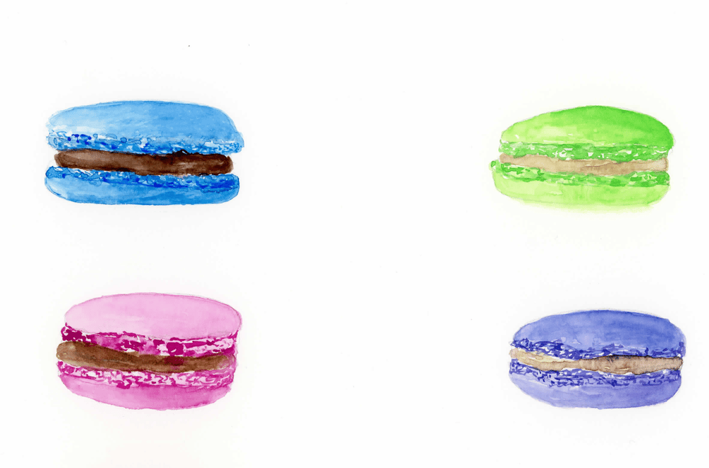 Macaroons - image 1 - student project