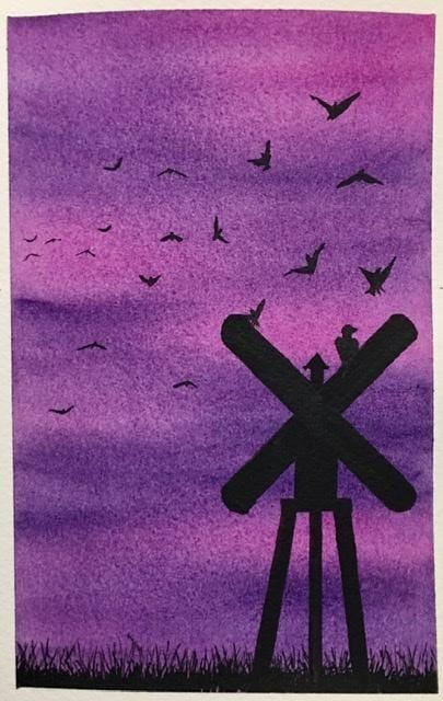 Watercolor Bird Practice - image 6 - student project