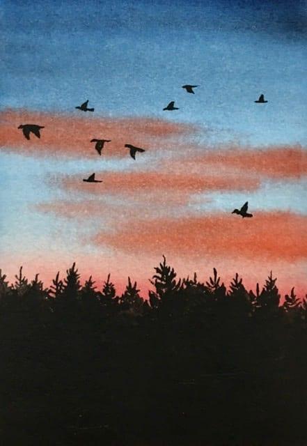 Watercolor Bird Practice - image 5 - student project