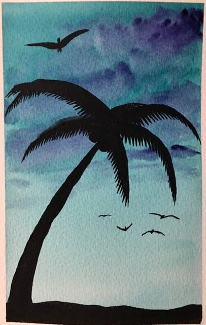 Watercolor Bird Practice - image 3 - student project
