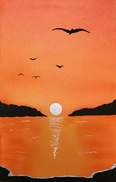 Watercolor Bird Practice - image 2 - student project