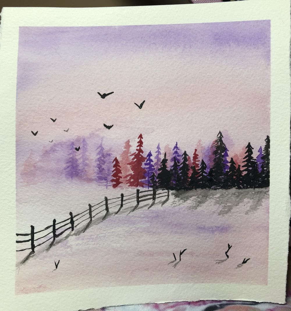 Winter Landscapes - image 1 - student project