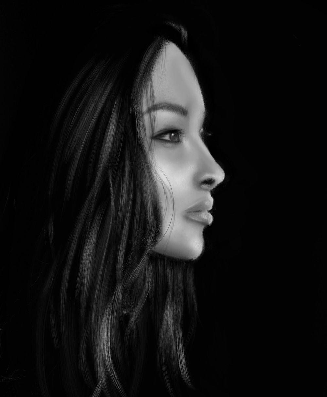 digital portrait with procreate - image 1 - student project