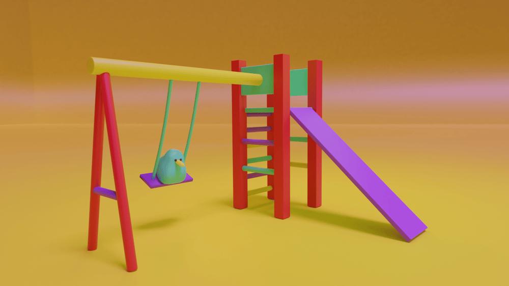 Bird Swing - image 1 - student project
