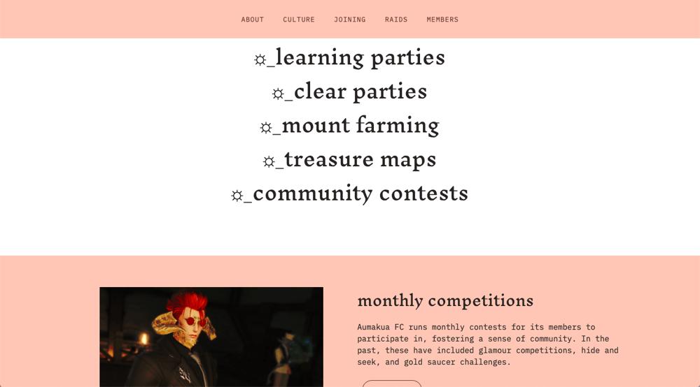 Aumakua Mock Website - image 2 - student project