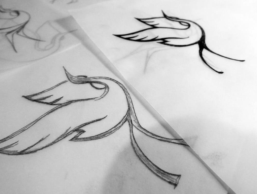 Dancing crane mark - image 3 - student project
