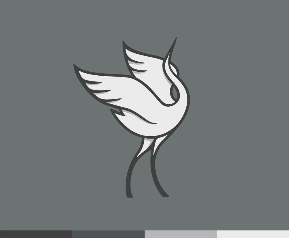 Dancing crane mark - image 4 - student project