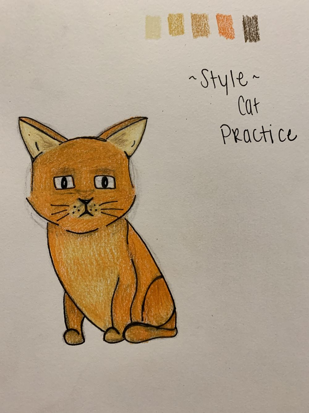 Stylistic Cat - image 1 - student project