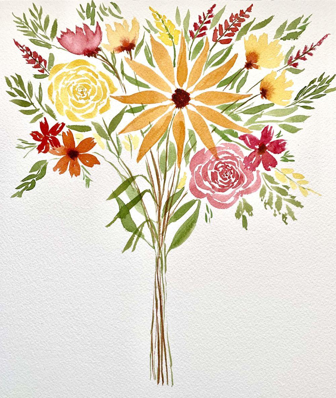 Floral Bouquet - image 1 - student project