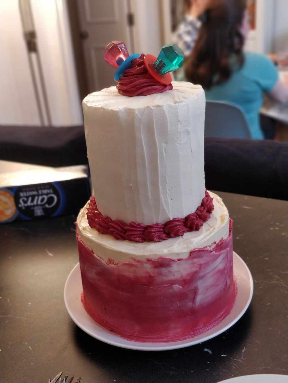 Fun Engagement Cake - image 1 - student project