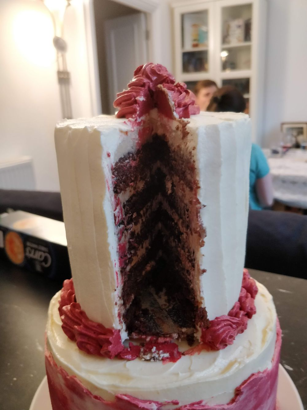 Fun Engagement Cake - image 3 - student project