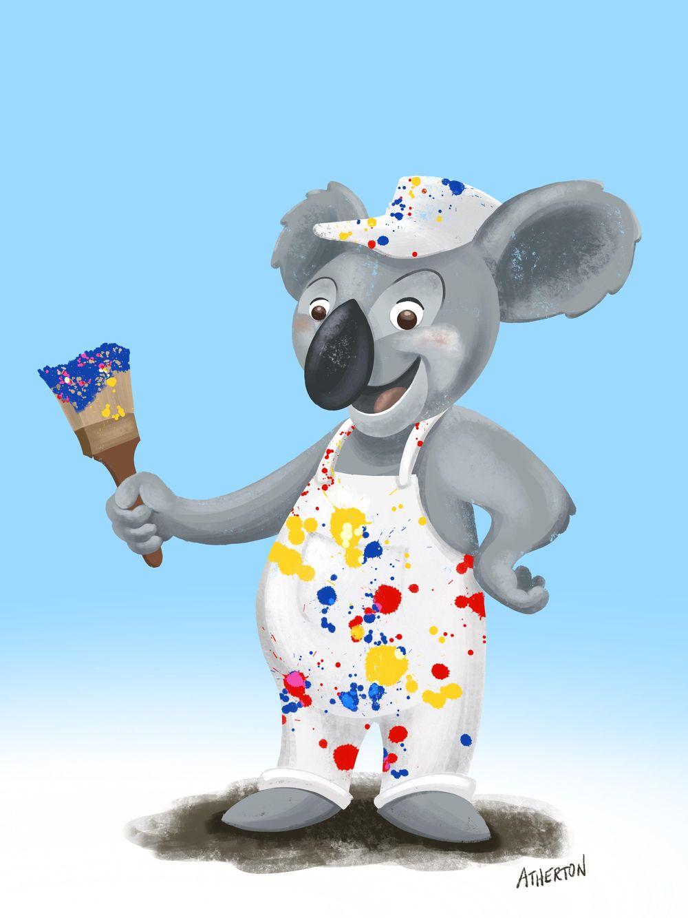 Koala painters inc. - image 4 - student project