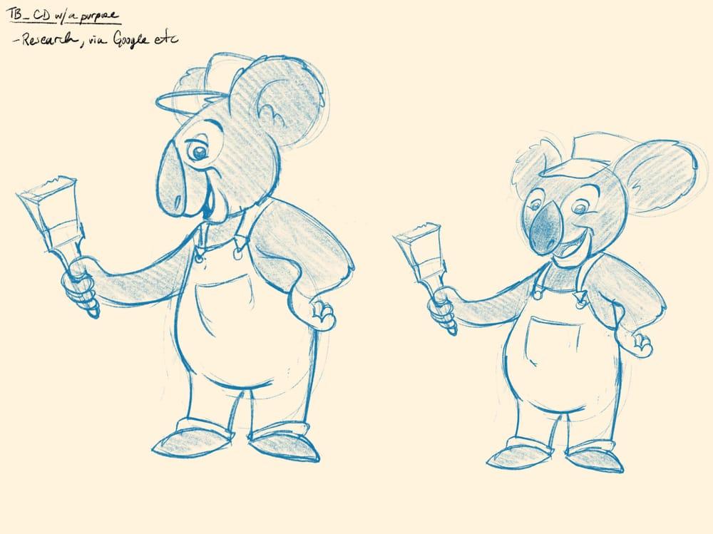 Koala painters inc. - image 3 - student project