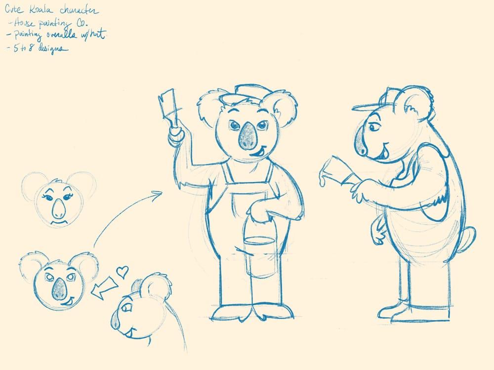 Koala painters inc. - image 1 - student project