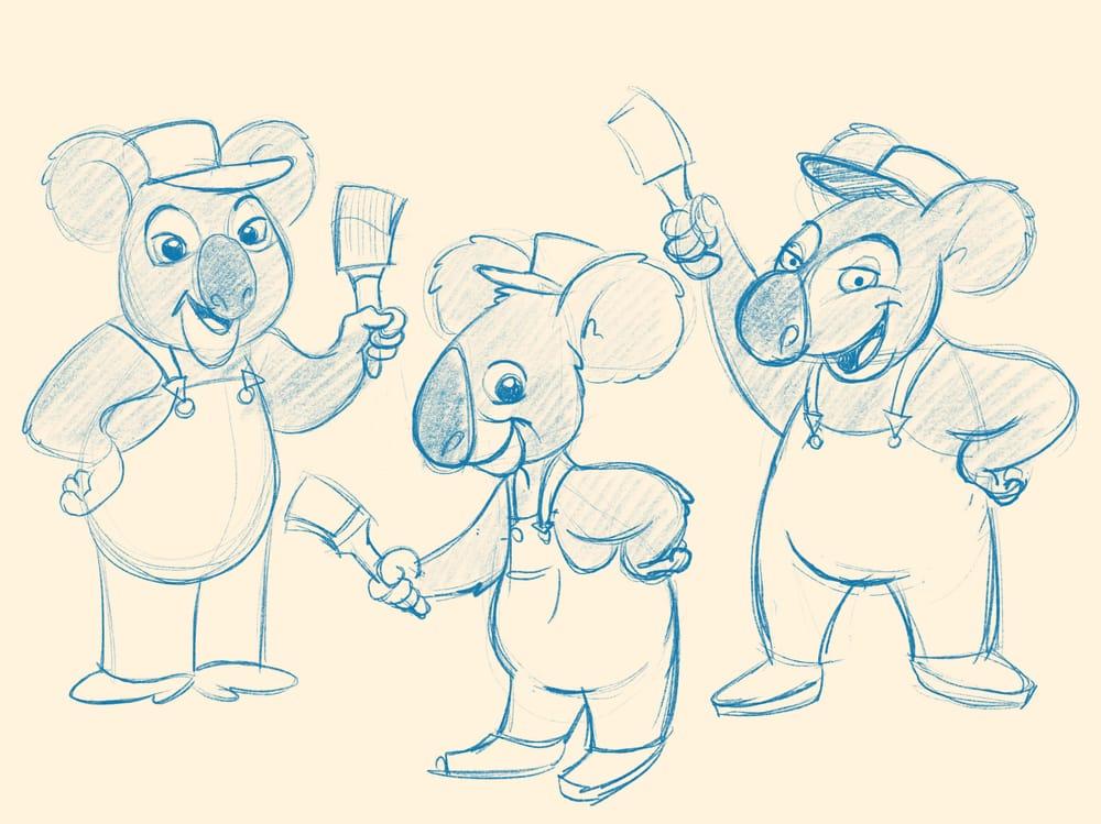 Koala painters inc. - image 2 - student project
