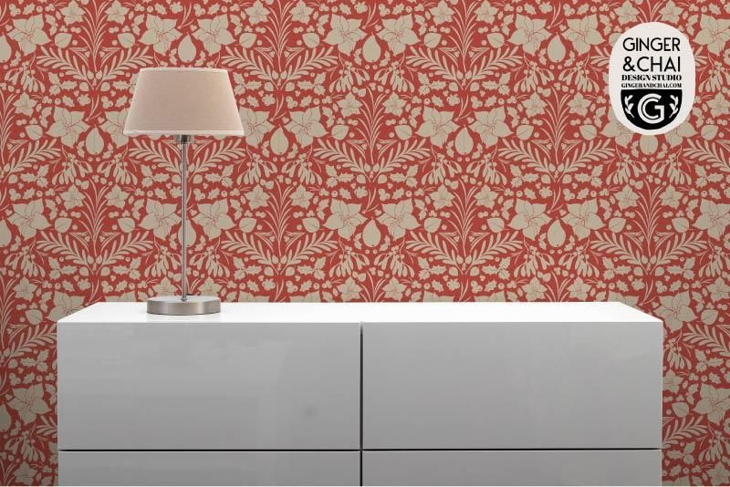 Holiday Foliage Wallpaper - image 2 - student project
