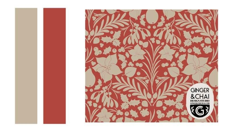 Holiday Foliage Wallpaper - image 1 - student project