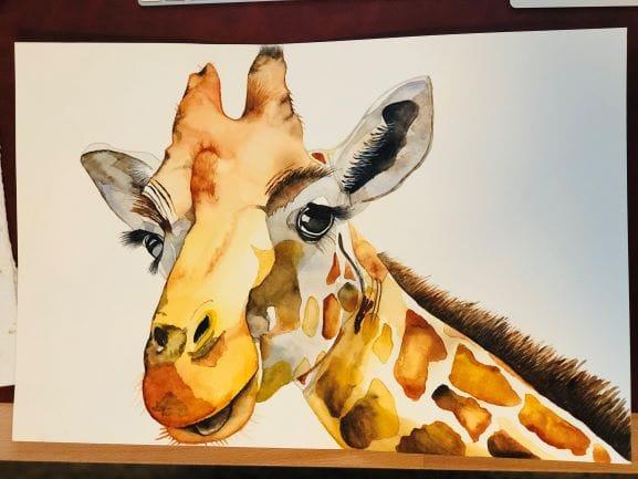 Giraffe - image 1 - student project