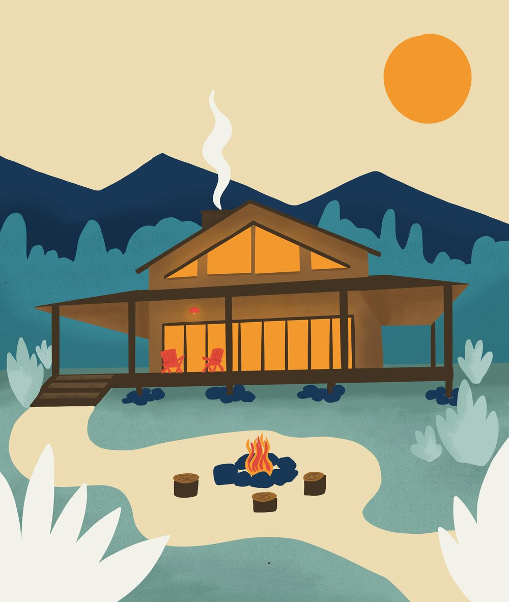 Dream log cabin! - image 3 - student project