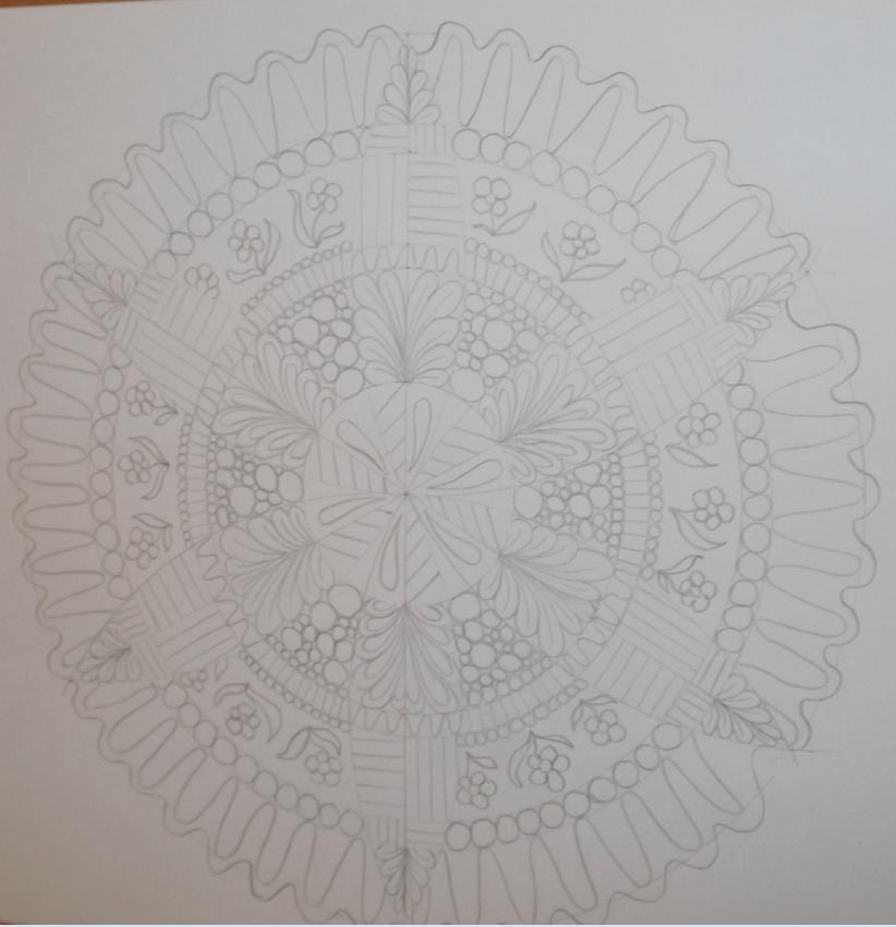 My first mandala - image 2 - student project