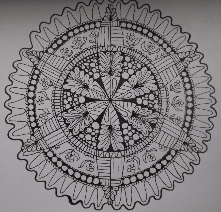 My first mandala - image 4 - student project