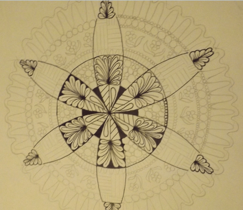 My first mandala - image 3 - student project