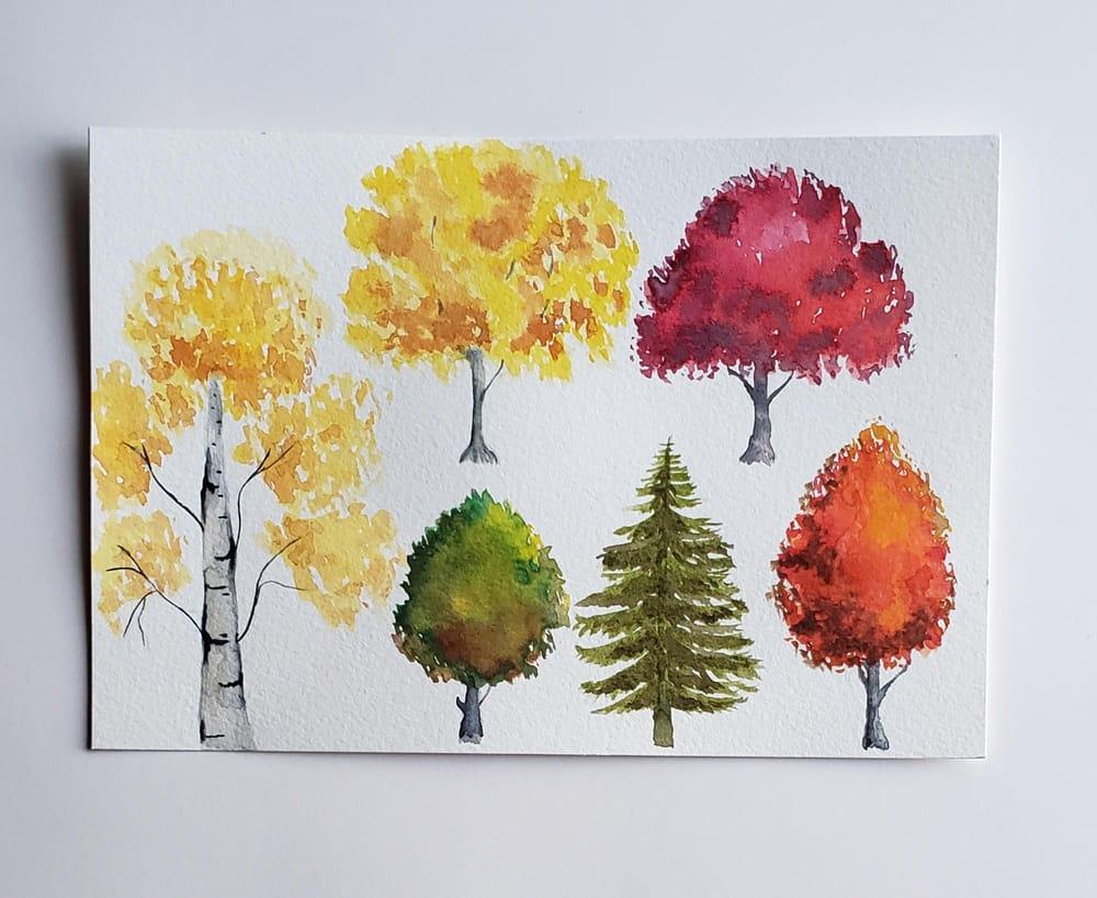 Árboles de otoño - image 1 - student project