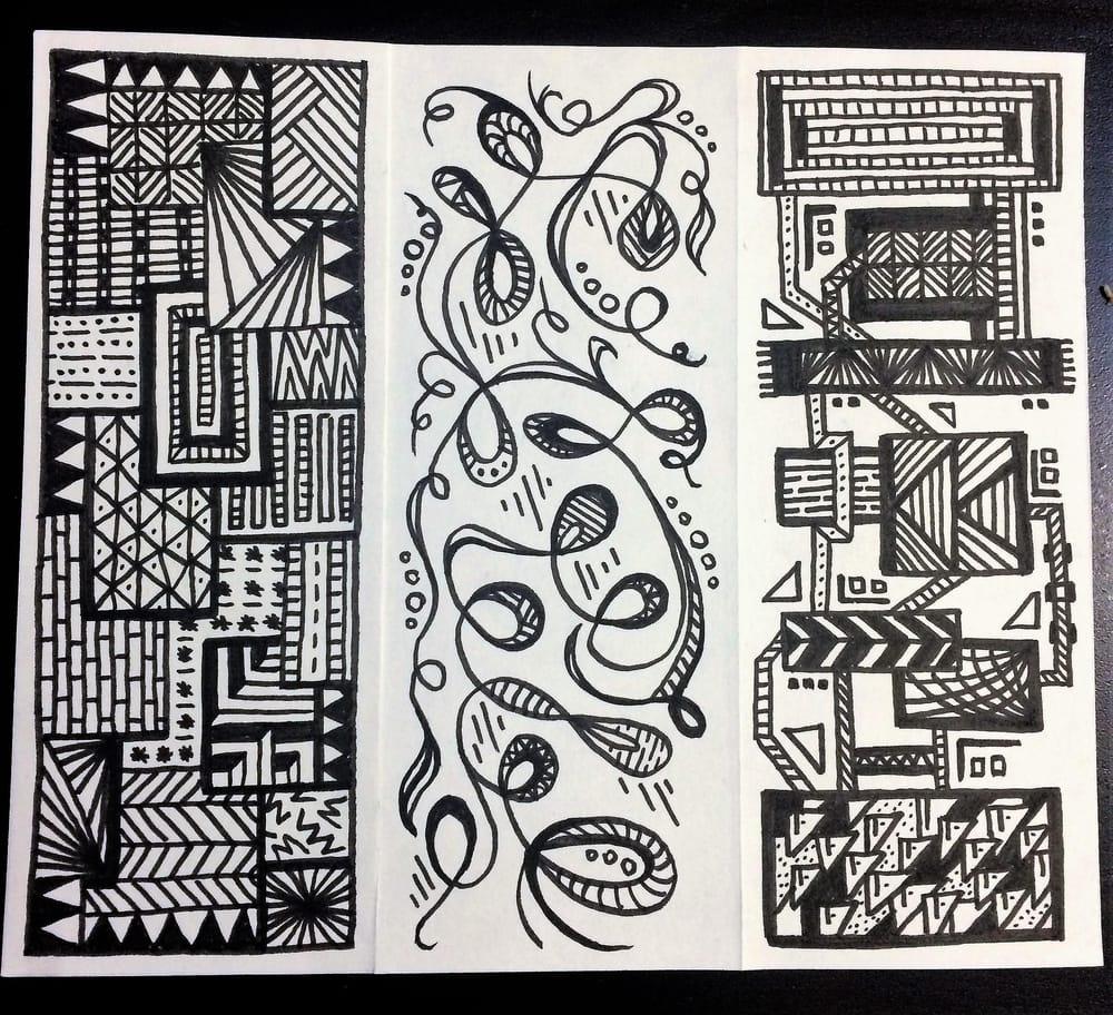 Landscape Doodle - image 2 - student project