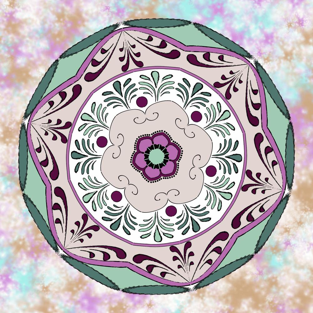 Inner Guidance Mandala - image 2 - student project